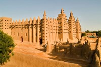 Mosque, Mali, West Africa Fine-Art Print