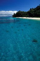Nosy Tanikely Surrounded by Deep Blue Ocean, Madagascar Fine-Art Print