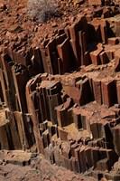 Organ Pipes rock formation, Damaraland, Namibia, Africa. Fine-Art Print