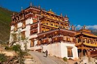 Sangpi Luobuling Si Monastery, Sichuan, China Fine-Art Print