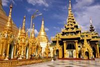 Shwedagon Pagoda, Yangon, Myanmar Fine-Art Print