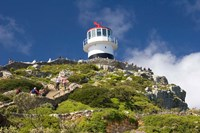 South Africa, Cape Town, Lighthouse on Cape Peninsula Fine-Art Print