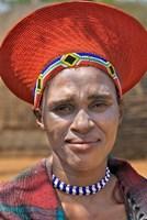 South Africa, KwaZulu Natal, Shakaland, Zulu tribe Fine-Art Print