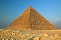 The Pyramids of Giza, the Nile, Cairo, Egypt Fine-Art Print