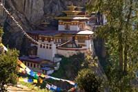 Taksang Monastery near Paro, Bhutan Fine-Art Print