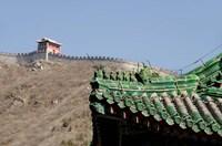 The Great Wall of China at Juyongguan, Beijing, China Fine-Art Print