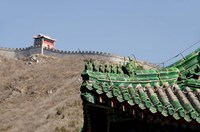 The Great Wall of China at Juyongguan, Beijing, China Fine-Art Print