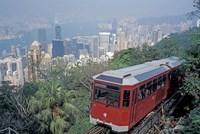 The Peak Tram, Victoria Peak, Hong Kong, China Fine-Art Print