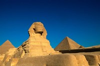 The Sphinx, Pyramids at Giza, Egypt Fine-Art Print