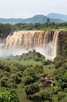 Tis Isat, waterfall, Blue Nile, Ethiopia Fine-Art Print