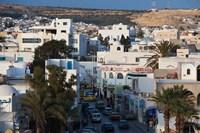 Tunisia, Cap Bon, Hammamet, Avenue de la Republique Fine-Art Print