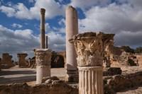 Tunisia, Carthage, Antonine Bath Ancient Architecture Fine-Art Print