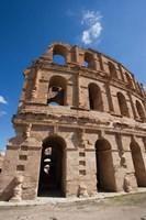 Tunisia, El Jem, Colosseum, Ancient Architecture Fine-Art Print
