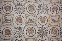 Tunisia, El Jem, El Jem Museum, Roman-era mosaic Fine-Art Print