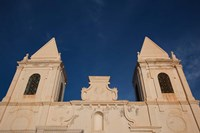 Tunisia, Jerba Island, Houmt Souq, Christian church Fine-Art Print