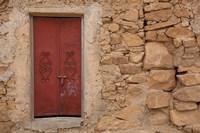 Tunisia, Ksour Area, Ezzahra, village doorway Fine-Art Print