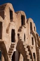 Fortified ksar building, Tunisia Fine-Art Print