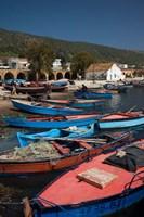 Tunisia, Northern Tunisia, Ghar el-Melh, fishing boat Fine-Art Print