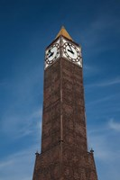 Tunisia, Tunis, Avenue Habib Bourguiba, Clock tower Fine-Art Print
