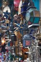 Tunisia, Tunis, Tunisian souvenirs, Souq market Fine-Art Print