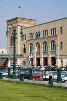Train Station of Mahattat Ramses, Cairo, Egypt, North Africa Fine-Art Print