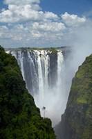 Victoria Falls, Mosi-oa-Tunya, Zimbabwe, Africa Fine-Art Print