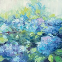 Bright Hydrangea II Fine-Art Print