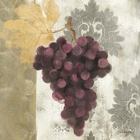 Acanthus and Paisley With Grapes  I Fine-Art Print