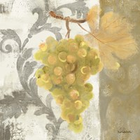 Acanthus and Paisley With Grapes II Fine-Art Print