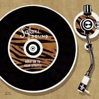 Analog Jungle Record Player Fine-Art Print