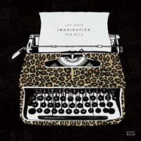 Analog Jungle Typewriter Fine-Art Print