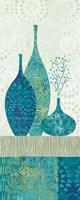 Blue Spice Stripe Panel II Fine-Art Print