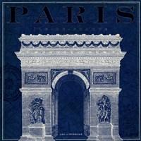 Blueprint Arc de Triomphe Fine-Art Print