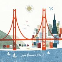 Colorful San Francisco Fine-Art Print