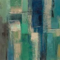 Emerald Fields Square I Fine-Art Print