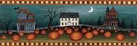 Halloween Eve Crescent Moon Fine-Art Print