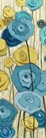 Lemongrass in Blue Panel II Fine-Art Print