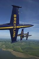 3 Aero L-39 Albatros in formation Fine-Art Print