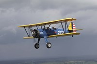 Boeing Stearman Model 75 Kaydet in US Army colors Fine-Art Print