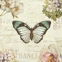 Marche de Fleurs Butterfly II Fine-Art Print