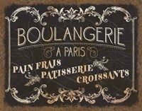 Parisian Signs Fine-Art Print
