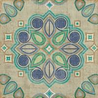 Santorini Tile III Fine-Art Print