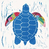 Sea Creature Turtle Color Fine-Art Print