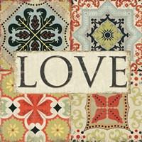 Spice Santorini I - Love Fine-Art Print
