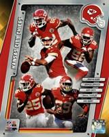 Kansas City Chiefs 2014 Team Composite Fine-Art Print