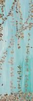 Trailing Vines II Blue Fine-Art Print