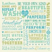 Wash Up Words Fine-Art Print
