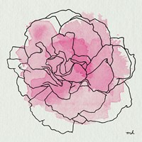 Watercolor Floral III Fine-Art Print