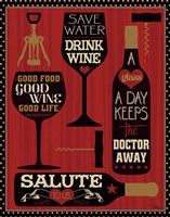 Wine Words II Fine-Art Print