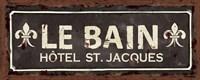Vintage Bath IV Fine-Art Print